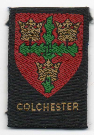 [Colchester District Badge]